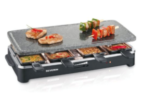 Severin RG 2343 Raclette PartyGrill con Pietra Ollare