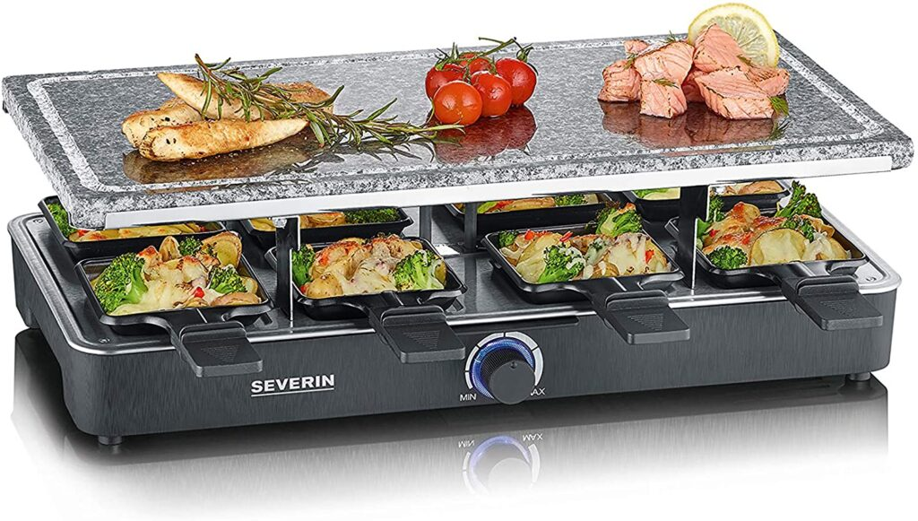 Raclette party grill Severin RG 2372